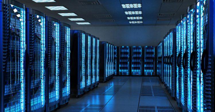proyeksi data center
